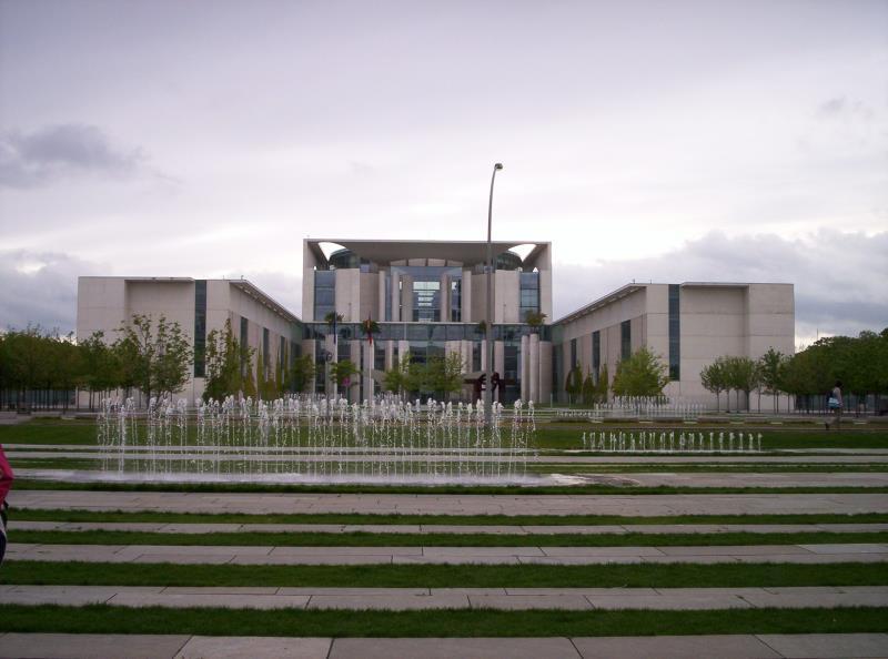 Das Bundeskanleramt in Berlin