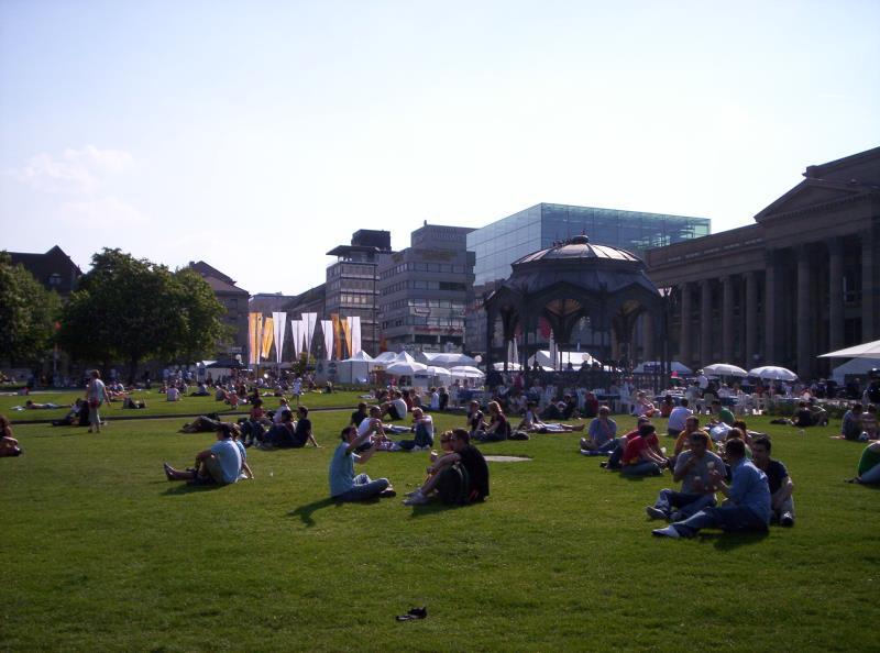 Stuttgarter Schlossplatz - Deutschland