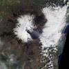 Satelliten-Aufnahme vom Ätna