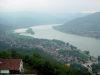 Blick über Visegrád - Ungarn