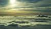 Wolkendecke in der Antarktis