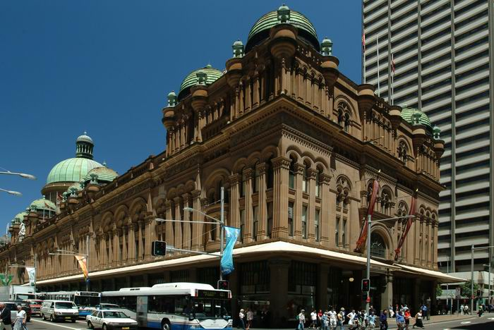 Queen Victoria Building in Sydney, Australien