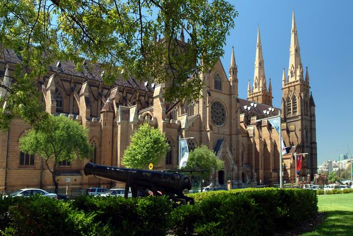 St. Marys Cathedral in Sydney, Australien