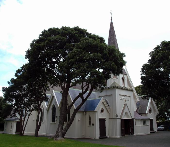 Old St. Paul's Church in Wellington, Neuseeland