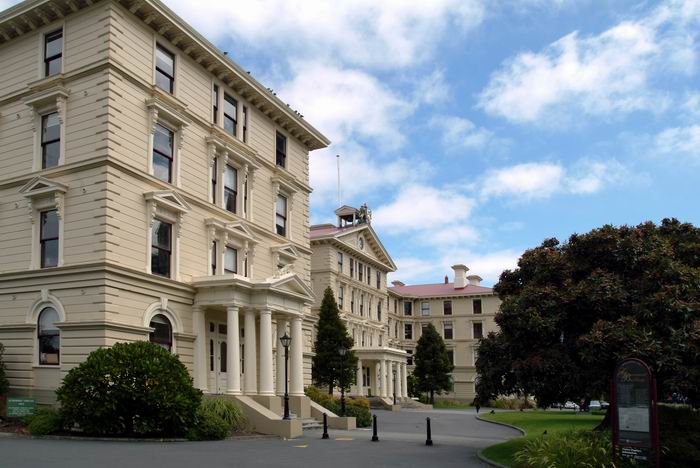 Old Government Building in Wellington, Neuseeland