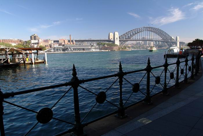 Sydney Cove & Harbour Bridge in Sydney